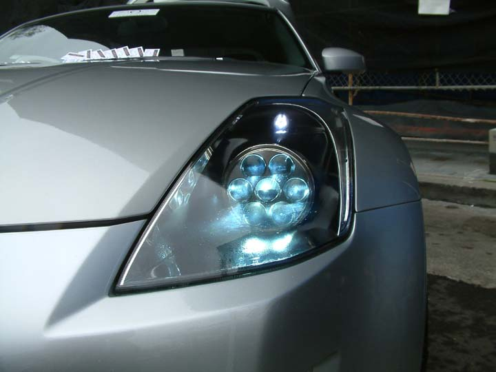 q45 headlight conversion on 350z my350z com nissan. Black Bedroom Furniture Sets. Home Design Ideas